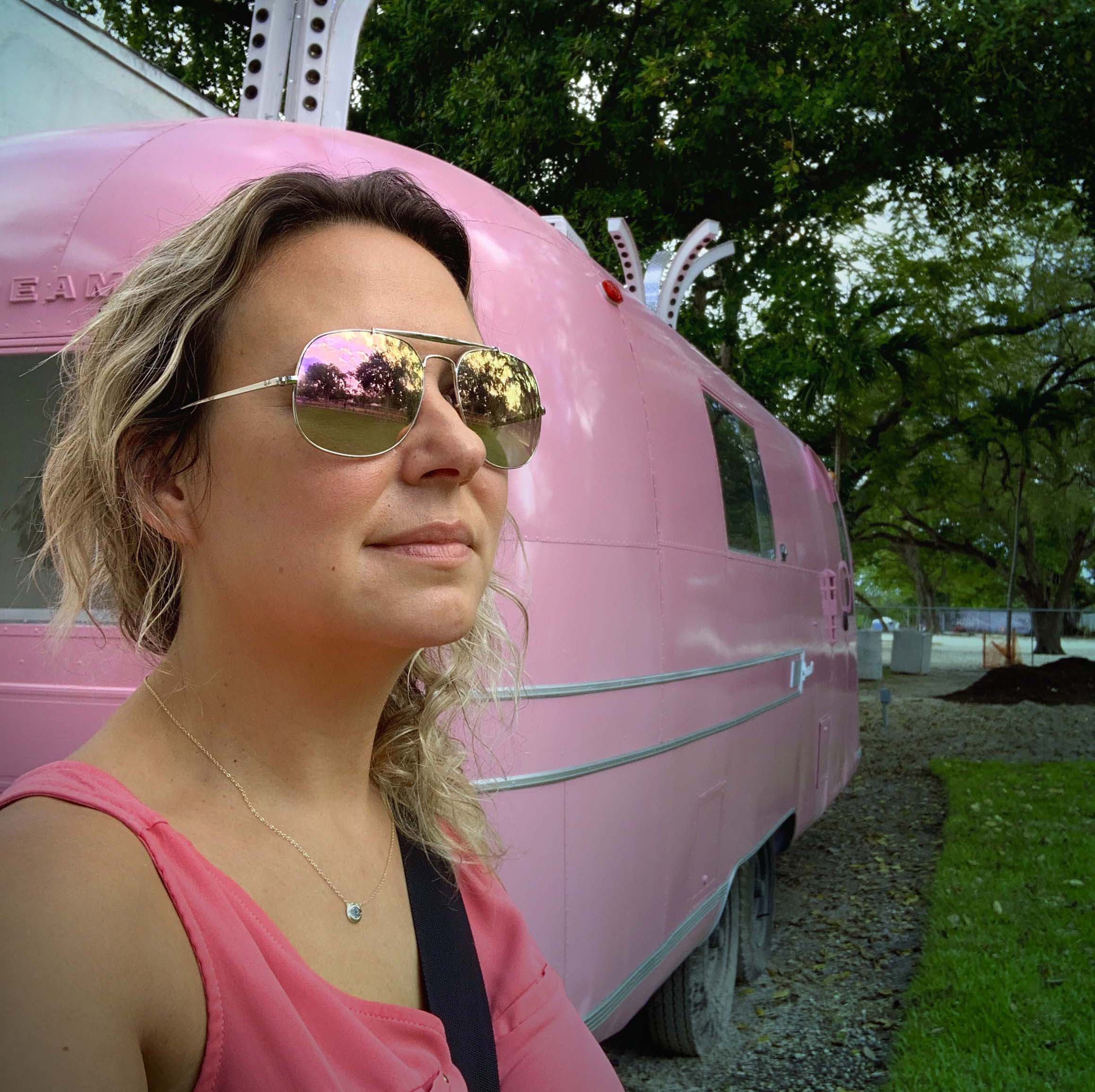 Sirena Andras - Magic City Innovation with Pink Airstream