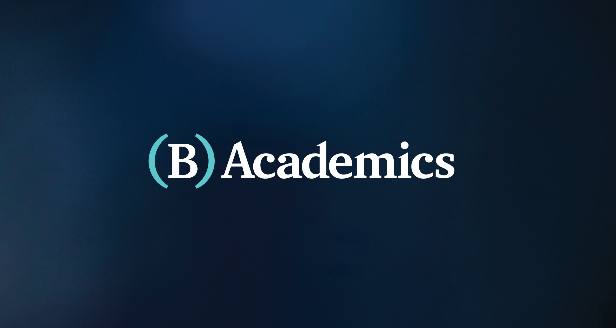 Logo for B Academics