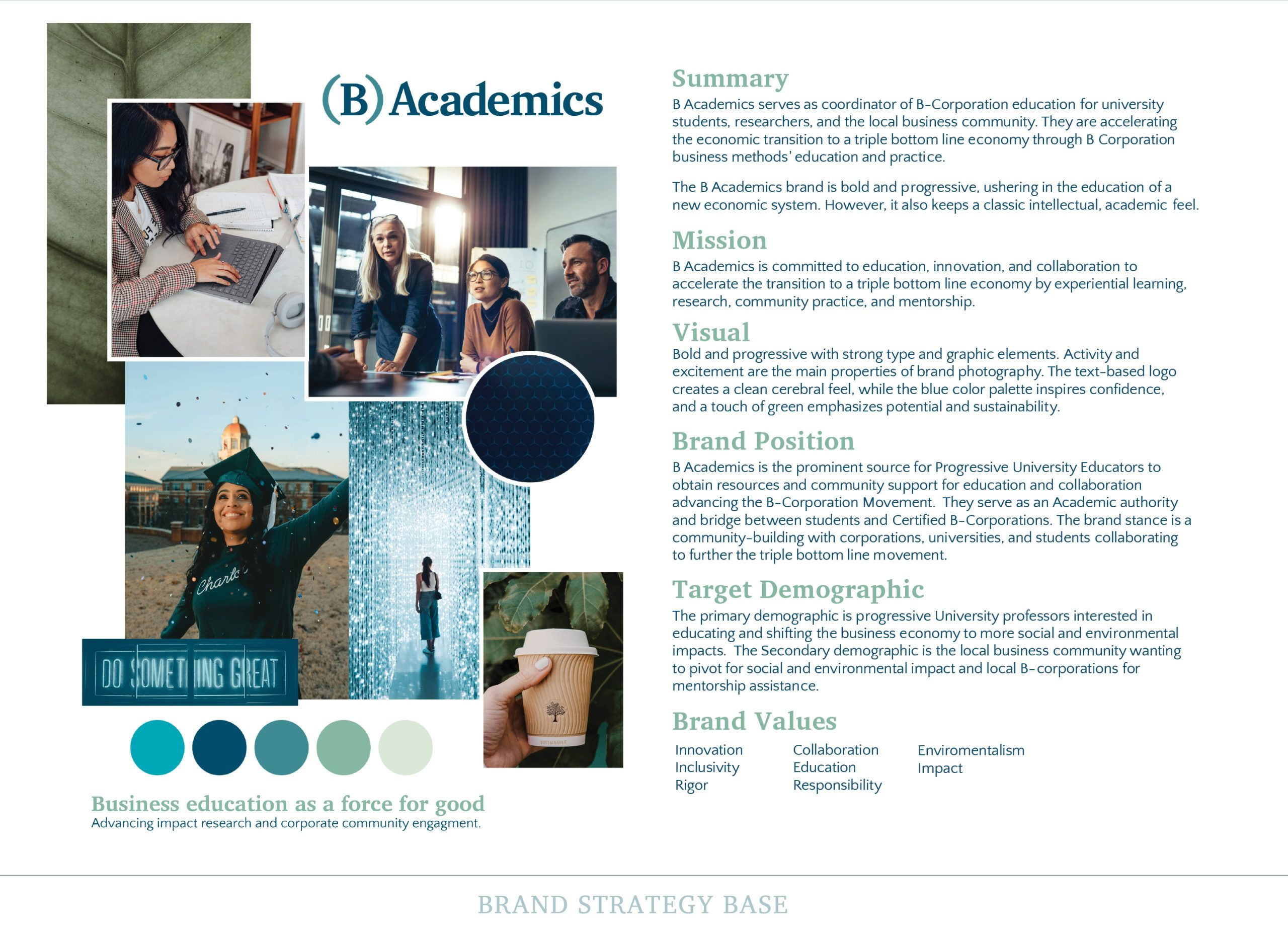 Branding Strategy for B Academics