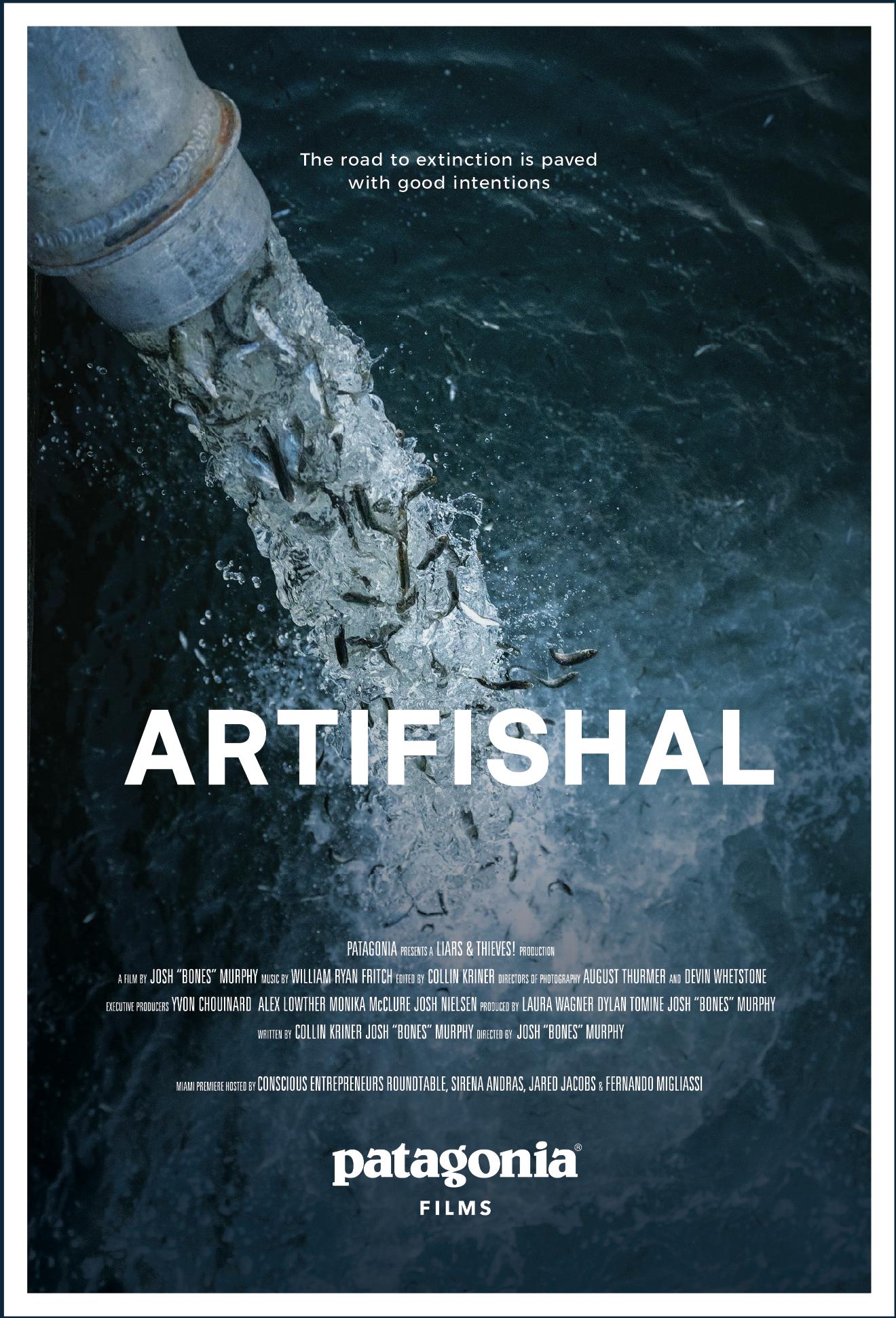 Artifishal Miami Premiere Movie Poster